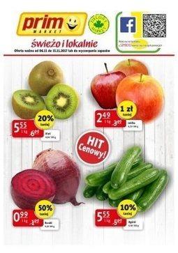 Gazetka promocyjna Zielony Market, ważna od 06.11.2017 do 15.11.2017.