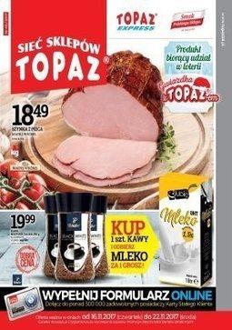 Gazetka promocyjna Topaz, ważna od 16.11.2017 do 22.11.2017.