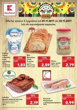 Gazetka promocyjna Kaufland, ważna od 09.11.2017 do 22.11.2017.