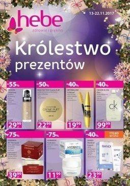 Gazetka promocyjna Drogeria Hebe, ważna od 13.11.2017 do 22.11.2017.