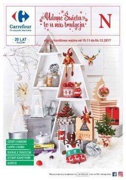 Gazetka promocyjna Carrefour, ważna od 15.11.2017 do 04.12.2017.