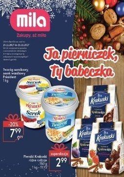 Gazetka promocyjna Mila, ważna od 15.11.2017 do 21.11.2017.
