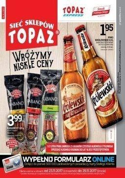 Gazetka promocyjna Topaz, ważna od 23.11.2017 do 29.11.2017.
