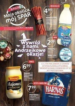 Gazetka promocyjna Spar, ważna od 16.11.2017 do 26.11.2017.