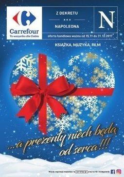 Gazetka promocyjna Carrefour, ważna od 15.11.2017 do 31.12.2017.