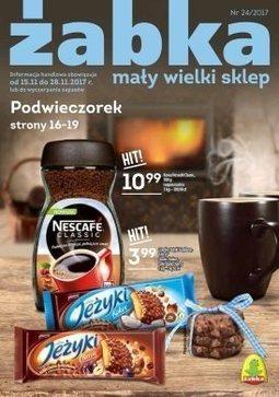 Gazetka promocyjna Żabka, ważna od 15.11.2017 do 28.11.2017.