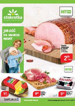 Gazetka promocyjna Stokrotka, ważna od 16.11.2017 do 22.11.2017.
