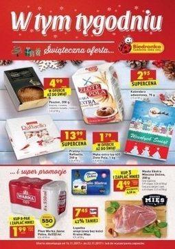 Gazetka promocyjna Biedronka, ważna od 16.11.2017 do 22.11.2017.
