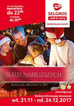 Gazetka promocyjna Selgros Cash&Carry, ważna od 21.11.2017 do 24.11.2017.