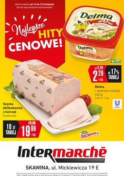 Gazetka promocyjna Intermarche Super, ważna od 16.11.2017 do 22.11.2017.
