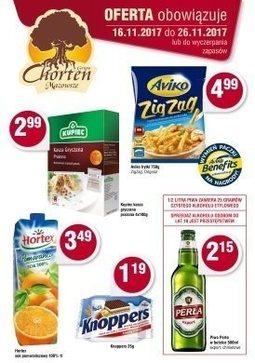 Gazetka promocyjna Chorten, ważna od 16.11.2017 do 26.11.2017.