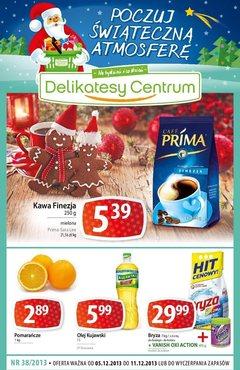 Gazetka promocyjna Delikatesy Centrum, ważna od 05.12.2013 do 11.12.2013.