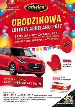 Gazetka promocyjna Arhelan, ważna od 17.11.2017 do 26.11.2017.