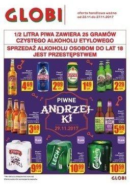 Gazetka promocyjna Globi, ważna od 22.11.2017 do 27.11.2017.