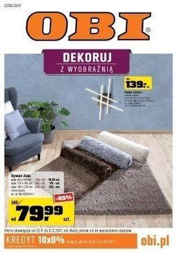 Gazetka promocyjna Obi, ważna od 23.11.2017 do 06.12.2017.
