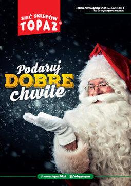 Gazetka promocyjna Topaz, ważna od 20.11.2017 do 23.12.2017.