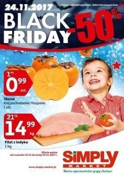 Gazetka promocyjna Simply Market, ważna od 23.11.2017 do 29.11.2017.