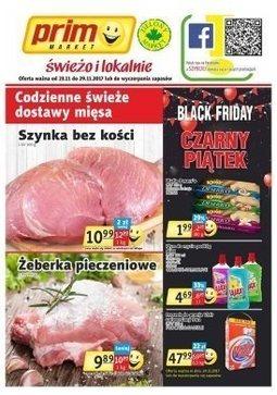 Gazetka promocyjna Prim Market, ważna od 23.11.2017 do 29.11.2017.