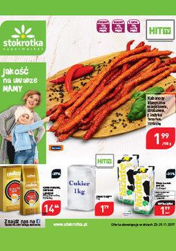 Gazetka promocyjna Stokrotka, ważna od 23.11.2017 do 29.11.2017.