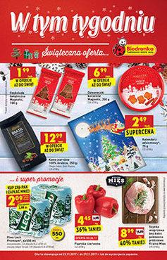 Gazetka promocyjna Biedronka, ważna od 23.11.2017 do 29.11.2017.