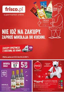 Gazetka promocyjna Frisco, ważna od 22.11.2017 do 05.12.2017.