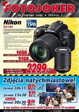 Gazetka promocyjna Fotojoker, ważna od 06.12.2013 do 03.01.2014.