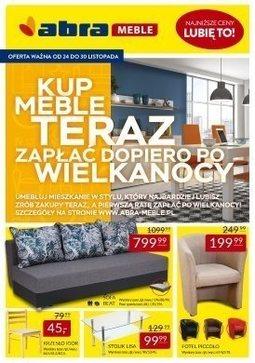 Gazetka promocyjna Abra, ważna od 24.11.2017 do 30.11.2017.