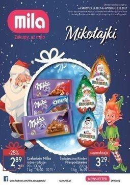 Gazetka promocyjna Mila, ważna od 29.11.2017 do 12.12.2017.