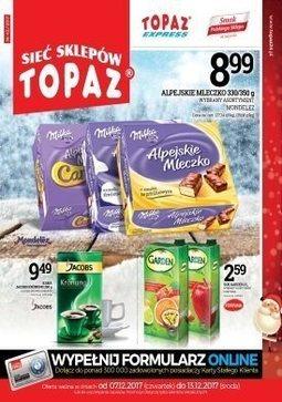 Gazetka promocyjna Topaz, ważna od 07.12.2017 do 13.12.2017.