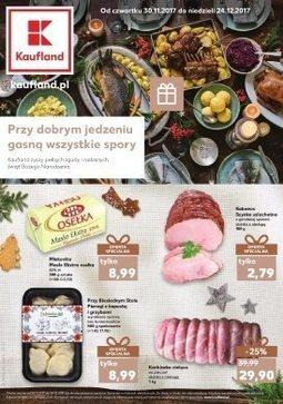 Gazetka promocyjna Kaufland, ważna od 30.11.2017 do 24.12.2017.