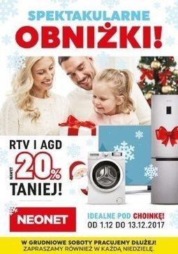 Gazetka promocyjna Neonet, ważna od 01.12.2017 do 13.12.2017.