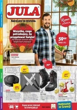Gazetka promocyjna Jula, ważna od 01.12.2017 do 18.12.2017.