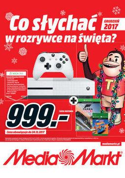 Gazetka promocyjna Media Markt, ważna od 01.12.2017 do 31.12.2017.