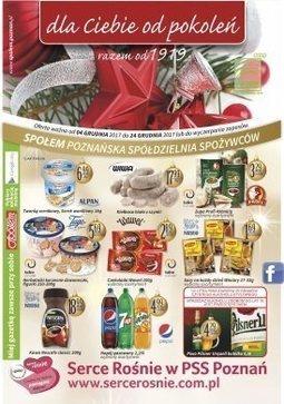 Gazetka promocyjna Społem, ważna od 04.12.2017 do 24.12.2017.
