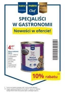 Gazetka promocyjna Makro Cash&Carry, ważna od 01.12.2017 do 31.12.2017.