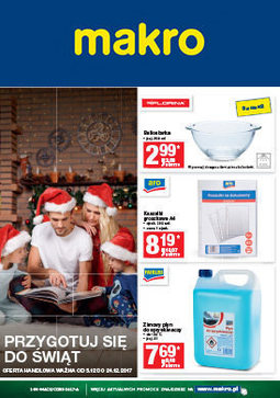 Gazetka promocyjna Makro Cash&Carry, ważna od 04.12.2017 do 18.12.2017.