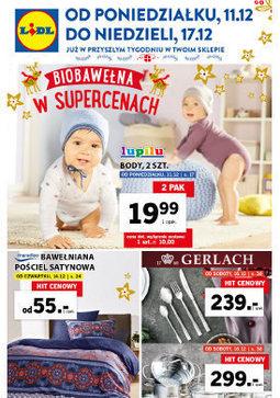Gazetka promocyjna Lidl, ważna od 11.12.2017 do 17.12.2017.