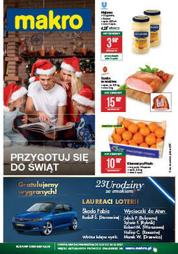 Gazetka promocyjna Makro Cash&Carry, ważna od 04.12.2017 do 16.12.2017.