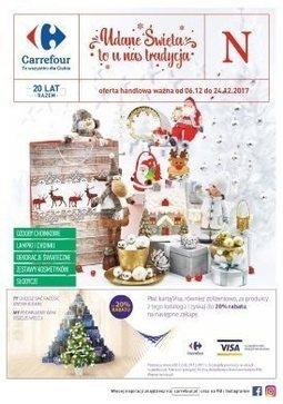 Gazetka promocyjna Carrefour, ważna od 06.12.2017 do 24.12.2017.