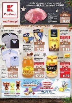Gazetka promocyjna Kaufland, ważna od 07.12.2017 do 13.12.2017.