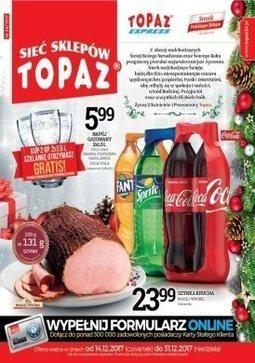 Gazetka promocyjna Topaz, ważna od 14.12.2017 do 31.12.2017.
