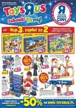 Gazetka promocyjna Toys''R''Us, ważna od 07.12.2017 do 13.12.2017.