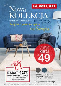 Gazetka promocyjna Komfort, ważna od 05.12.2017 do 24.12.2017.