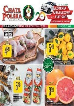 Gazetka promocyjna Chata Polska, ważna od 07.12.2017 do 13.12.2017.