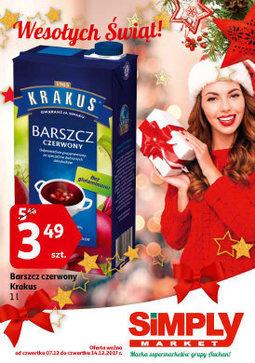 Gazetka promocyjna Simply Market, ważna od 07.12.2017 do 14.12.2017.