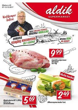 Gazetka promocyjna Aldik, ważna od 07.12.2017 do 13.12.2017.