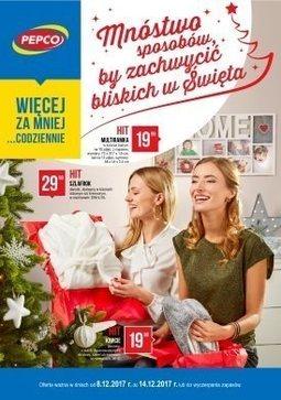 Gazetka promocyjna Pepco, ważna od 08.12.2017 do 14.12.2017.