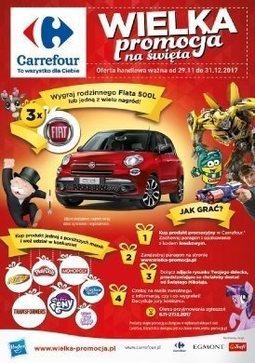 Gazetka promocyjna Carrefour, ważna od 29.11.2017 do 31.12.2017.