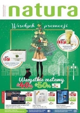 Gazetka promocyjna Drogerie Natura, ważna od 07.12.2017 do 27.12.2017.