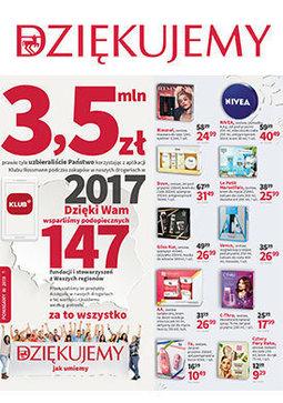 Gazetka promocyjna Rossmann, ważna od 09.12.2017 do 17.12.2017.